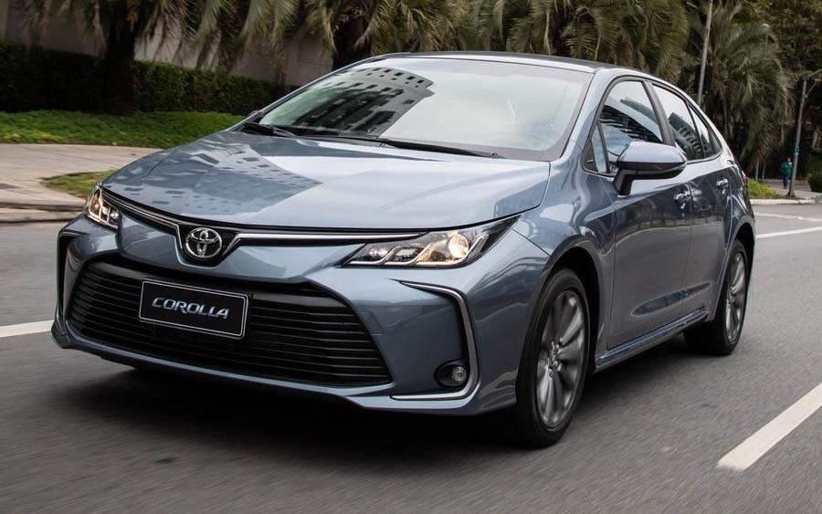 Conheça os detalhes do novo Toyota Corolla 2022