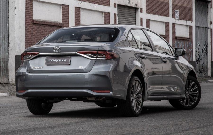 A Toyota já disponibiliza a linha 2022 do Corolla