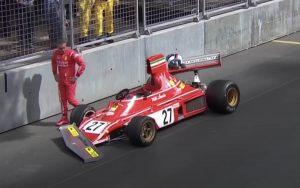 Ferrari histórica de R$ 30 milhões acaba batida em GP da F1
