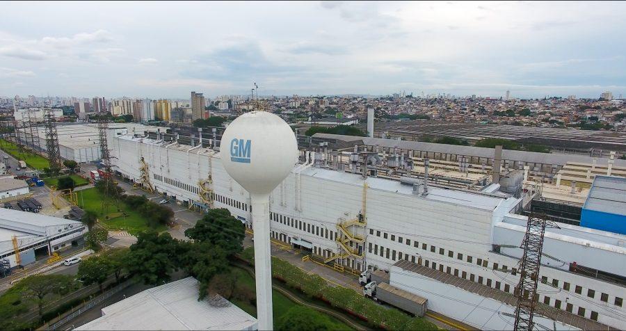 Complexo da GM em São Caetano do Sul