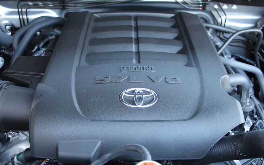 Motor V8 do Toyota-Tundra 2019