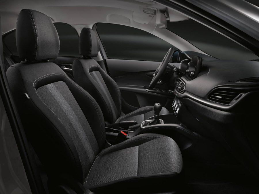 Interior do Fiat Tipo