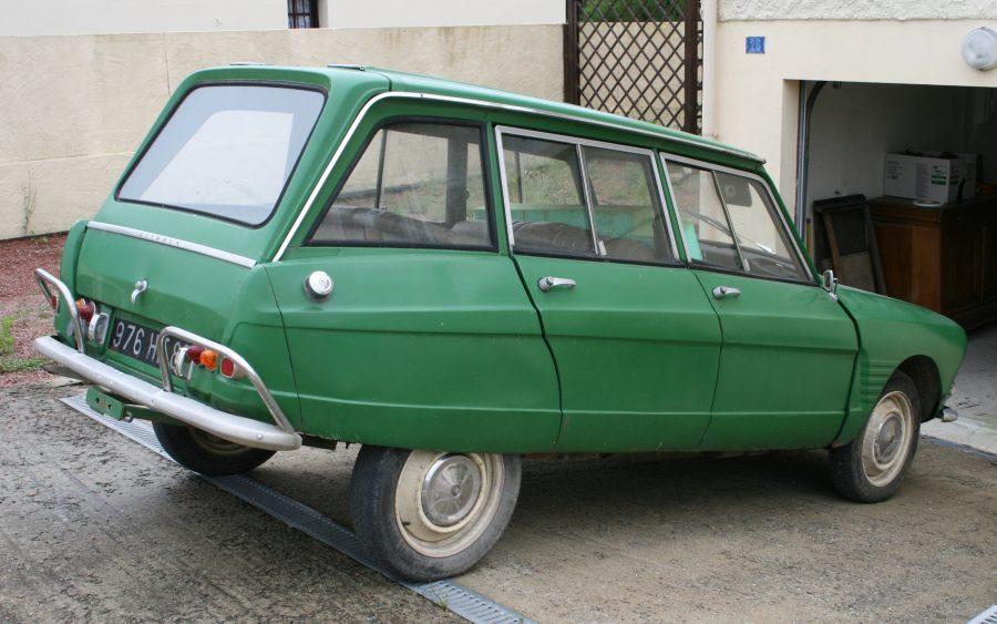 Citroën Ami 6 break 1967 (foto: Bobo974 / Wikimedia)