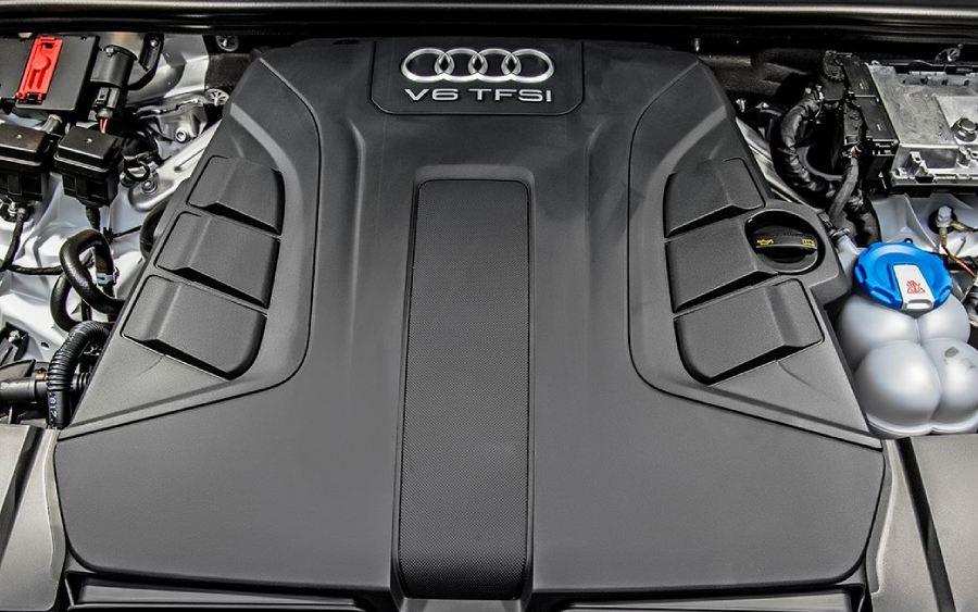 Motor V6 do Audi Q7