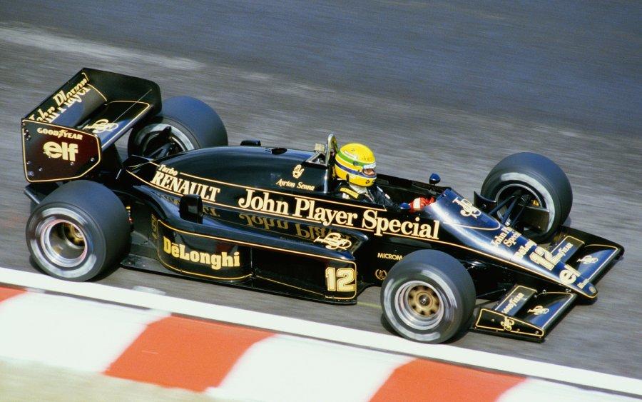 Ayrton Senna na Lotus