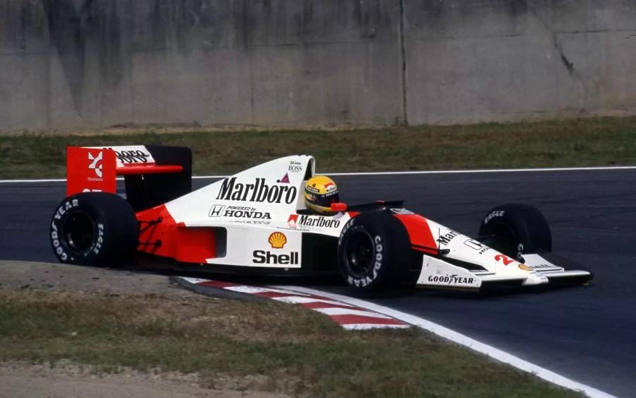 Ayrton Senna na McLaren