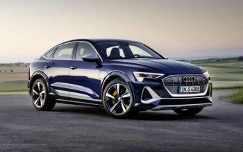 Cocheça o Audi e-tron S Sportback 100% elétrico
