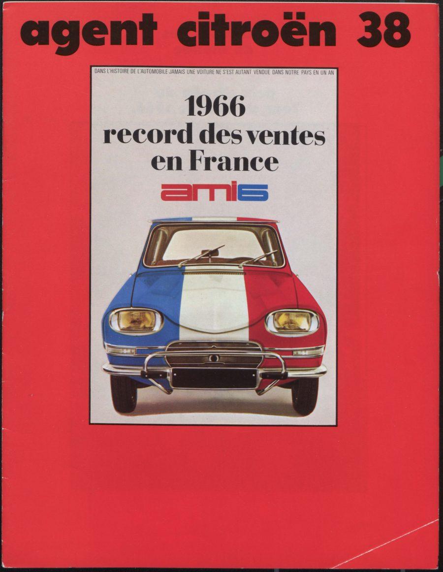 Uma expedição batizada de Le Tour de Gaule d'Amisix foi organizada pela Citroën, partindo de Rennes-La-Janais em 19 de janeiro de 1966, com dois Ami 6 station wagon de série para demonstrar a resistência e as qualidades do modelo na estrada. Na chegada, 23 horas e 11 minutos depois e sob a supervisão de um oficial de justiça, a equipe havia percorrido 2.077 km a uma velocidade média de 89,6 km/h
