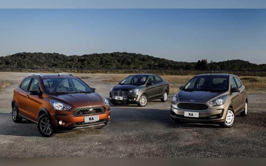 Ford Ka depois do facelift (foto: divulgação)