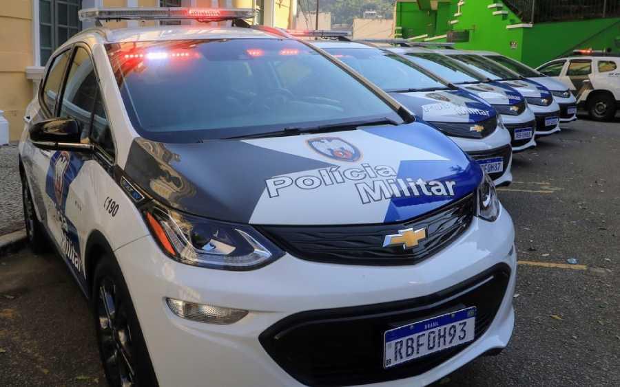 Chevrolet Bolt da Polícia Militar do Espírito Santo (foto: divulgação)