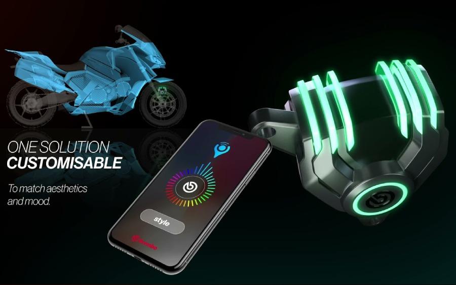 Pinças de freio da Brembo com LED's que mudam de cor via celular