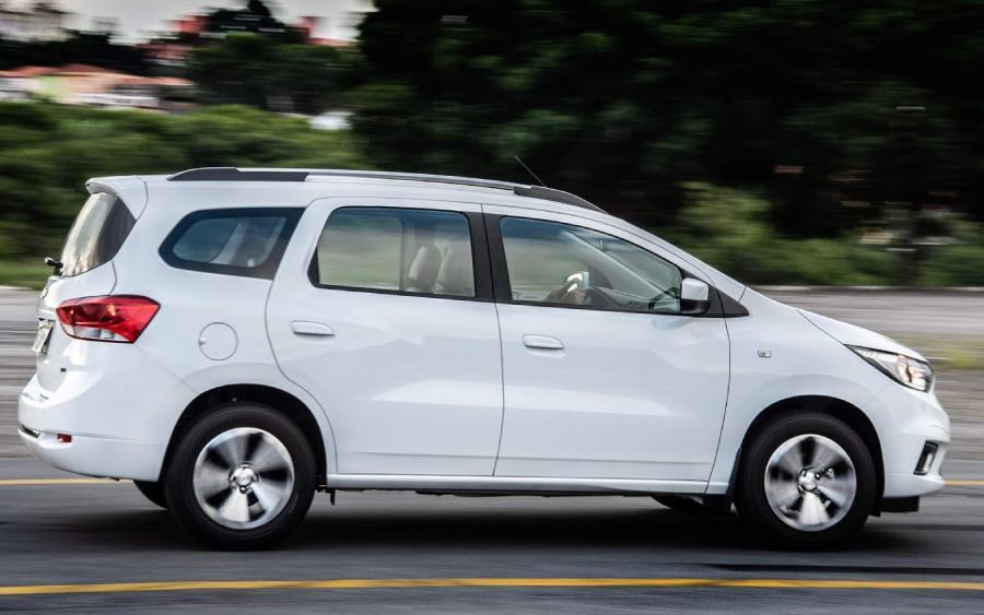 Chevrolet Spin depois do facelift (foto: divulgação)