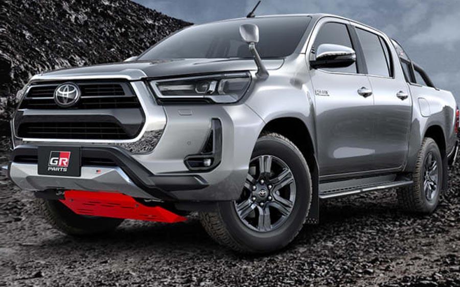 Nova Toyota Hilux GR Sport 2022 chega ainda em 2021 no Japão