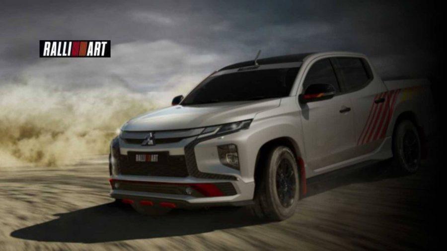 Mitsubishi recria divisão Ralliart e mostra L200 com kit off-road