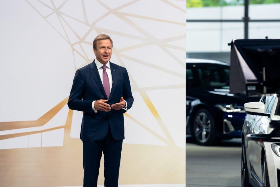 101ª Reunião Geral Anual da BMW AG em Munique em 12 de maio de 2021 (AGM virtual). Oliver Zipse, presidente do Conselho de Administração da BMW AG