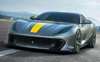 Da série supercarros: conheça a nova Ferrari 812 Competizione