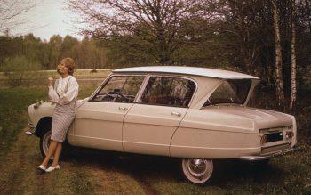 Em 1961 a Citroen apresentou à imprensa o AMI 6