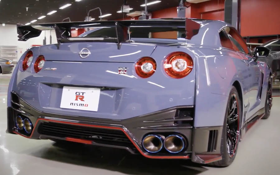 Este é a nova versão do Nissan GT-R NISMO