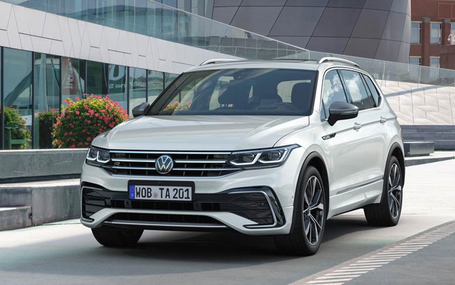 Novo VW Tiguan Allspace 2022 tem motor de Golf GTI