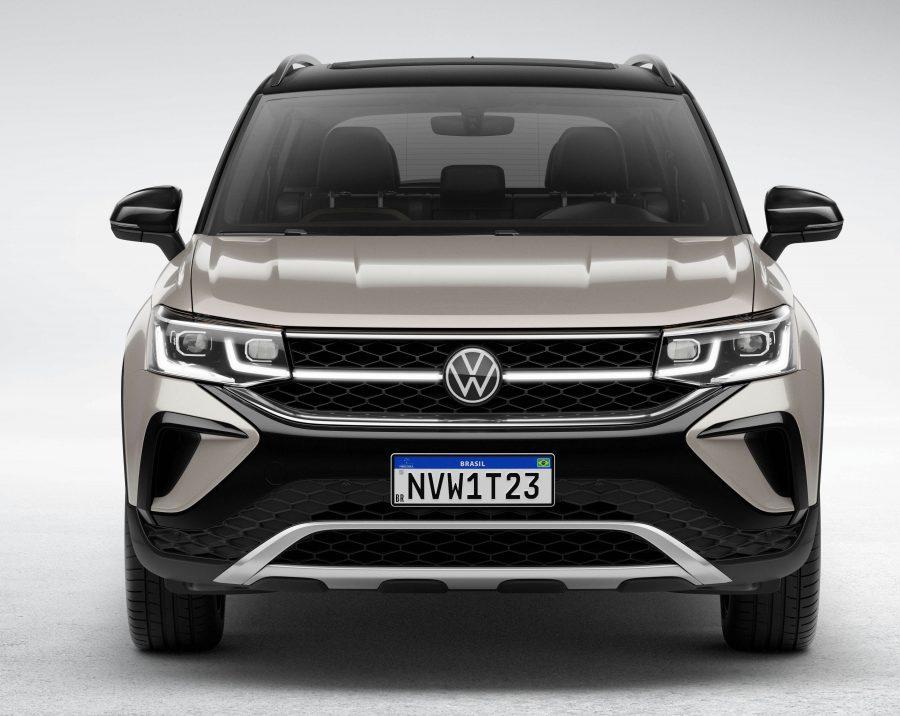 Tecnologia no SUV Volkswagen Taos promete mais segurança