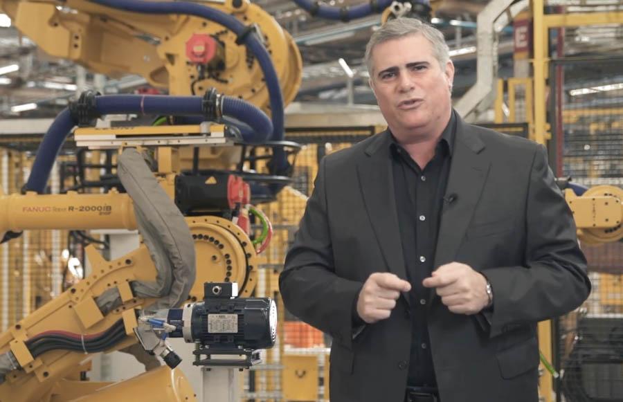 Carlos Zarlenga, presidente da GM América do Sul, confirmou em vídeo o nome da futura picape da Chevrolet
