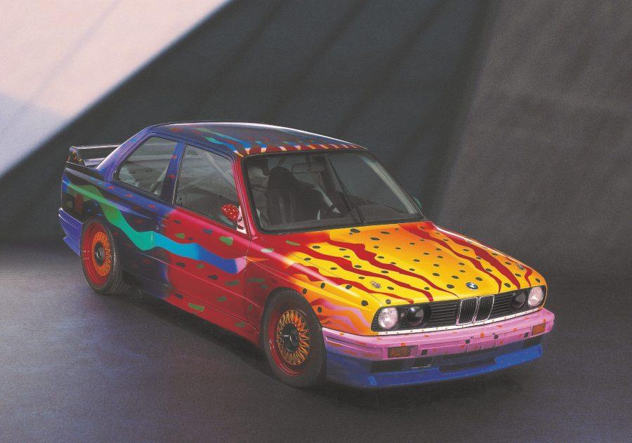 Ken Done, Art Car, 1989 - BMW M3 group A racing version