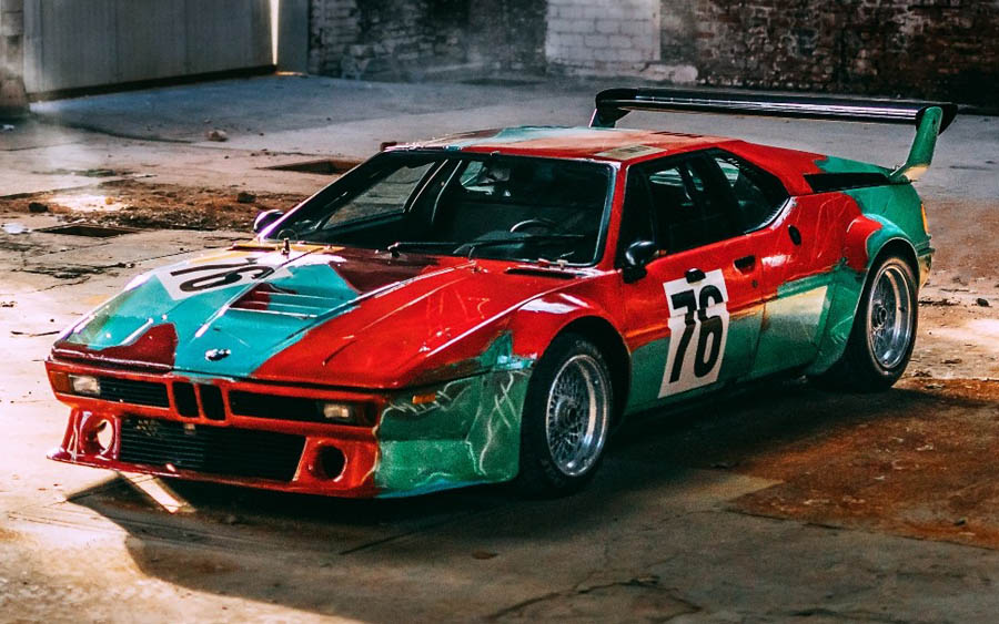 Andy Warhol BMW M1, 1979