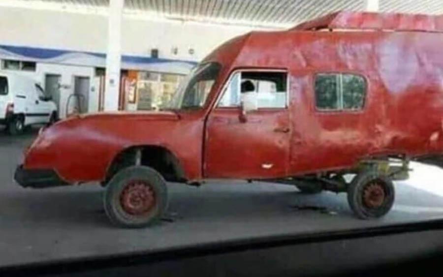 Eu sabia que o carro que eu desenhava existia