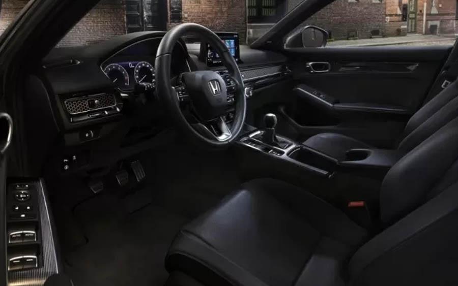 Interior do Honda Civic