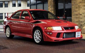 Mitsubishi Lancer Evolution VI Tommi Mäkinen foi  leiloado por 720 mil reais