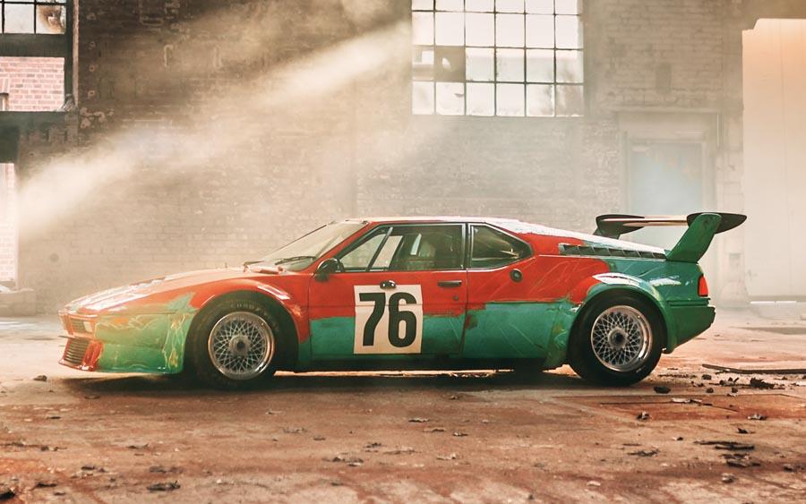 Os carros da BMW que viraram obras de arte