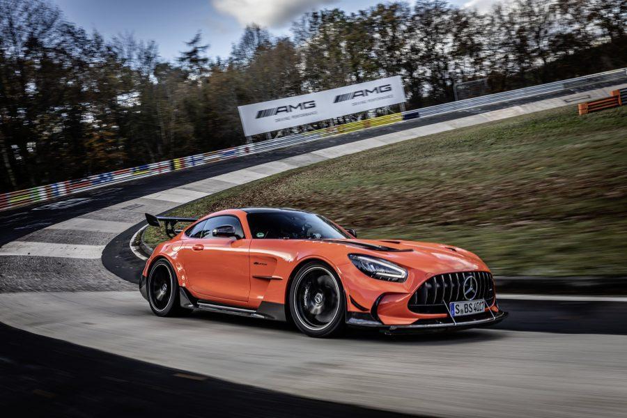Inspiração e tecnologias vindos diretamente dos modelos de corrida GT3