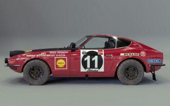 A vitória do icônico 240Z no Rally da África Oriental