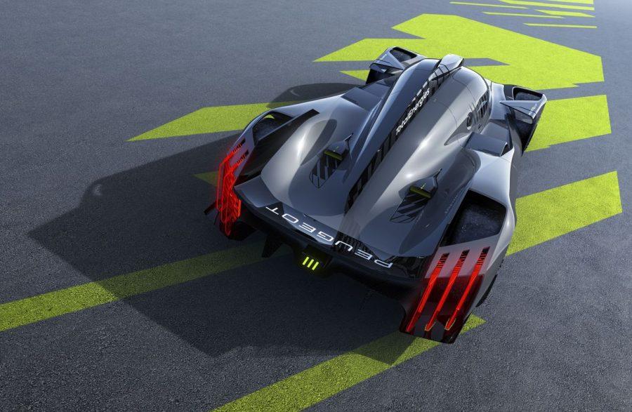 Confira o PEUGEOT 9X8, o novo carro de Endurance da marca do Leão