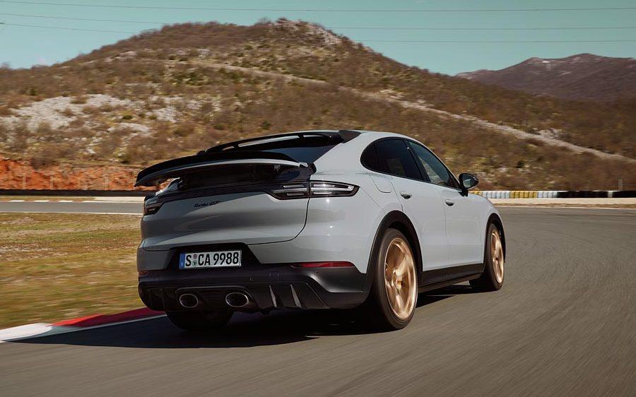 Porsche Cayenne Turbo GT é configurado para desempenho máximo