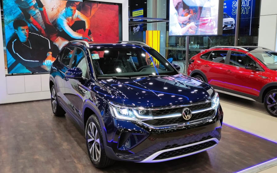 Volkswagen Taos chega às concessionárias