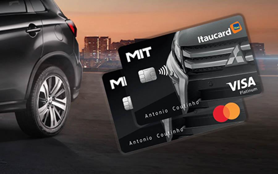 Mit Itaucard Platinum é o cartão de crédito da Mitsubishi