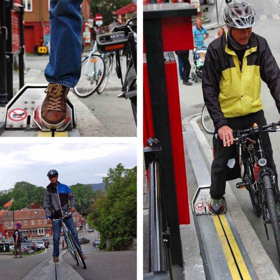 Elevadores de ciclistas