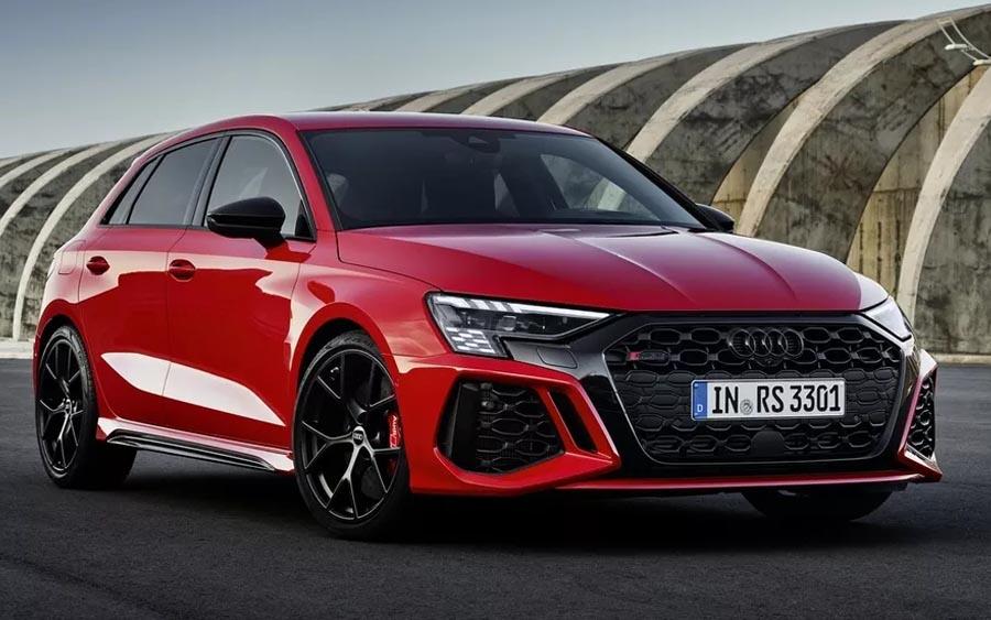 Novo Audi RS 3 é cheio de surpresas