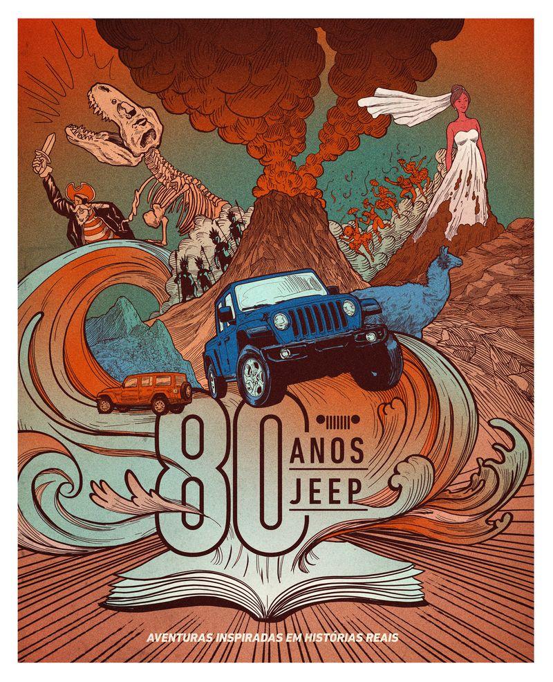 Jeep lança livro inspirado em histórias reais