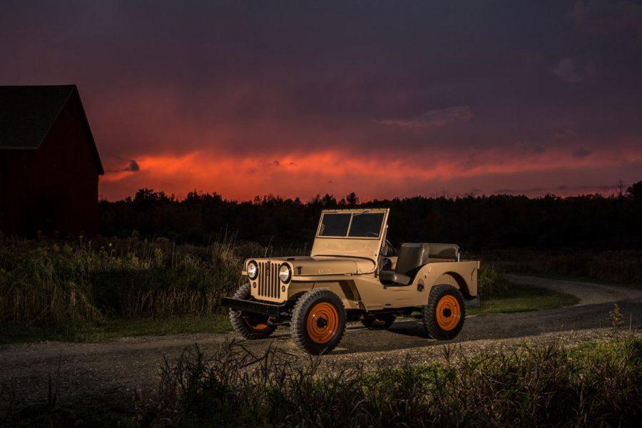 Um Jeep 4x4 para as massas