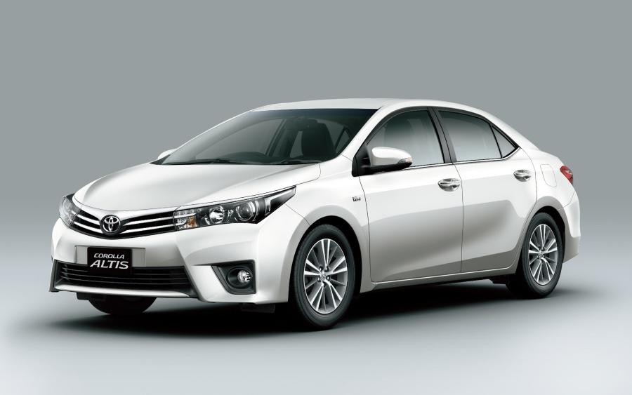 Corolla 11ª geração – 2014 a 2019 (foto: divulgação Toyota)