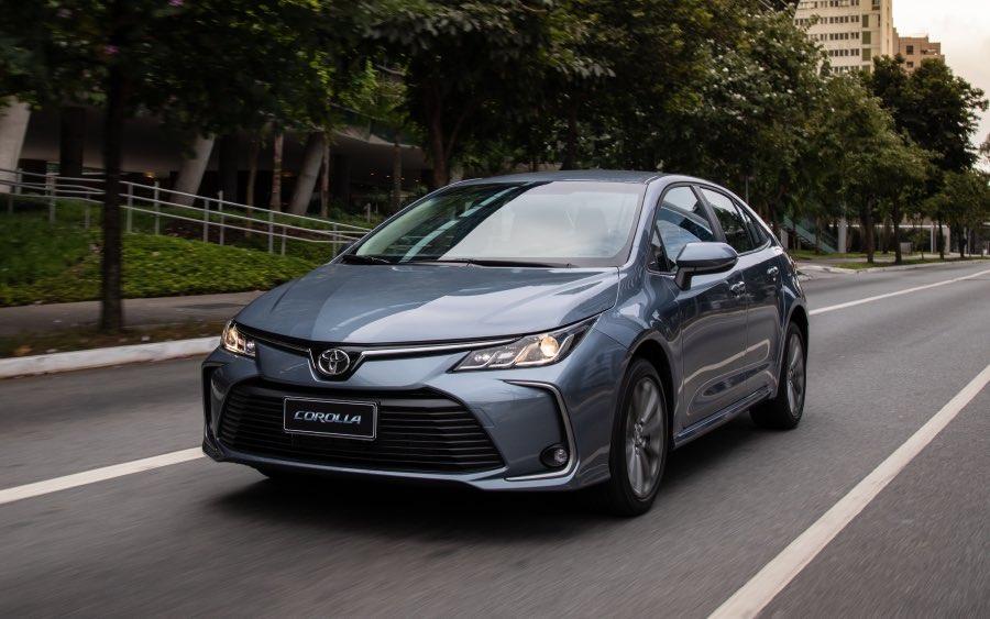 Corolla 12ª geração – 2019 até agora (foto: divulgação Toyota)