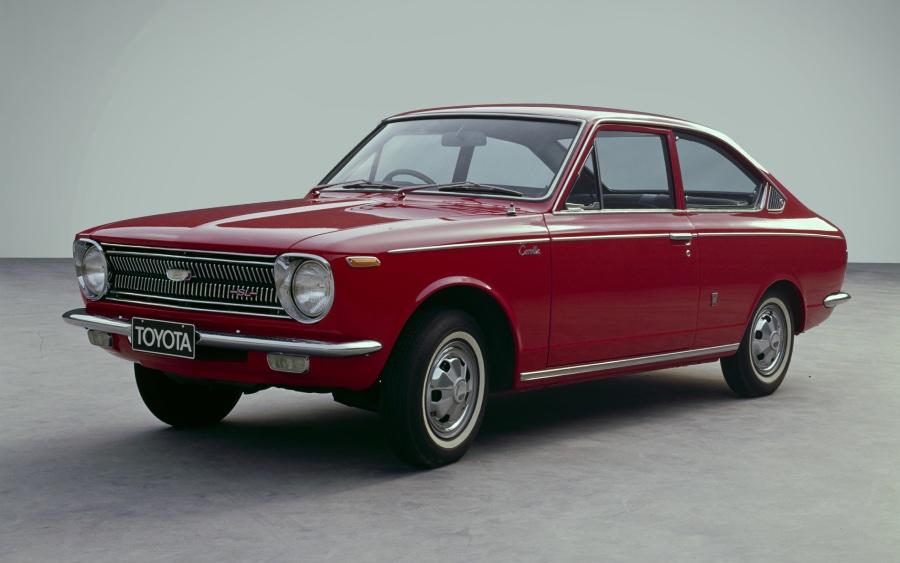 Corolla 1ª geração – 1966 a 1970 (foto: divulgação Toyota)