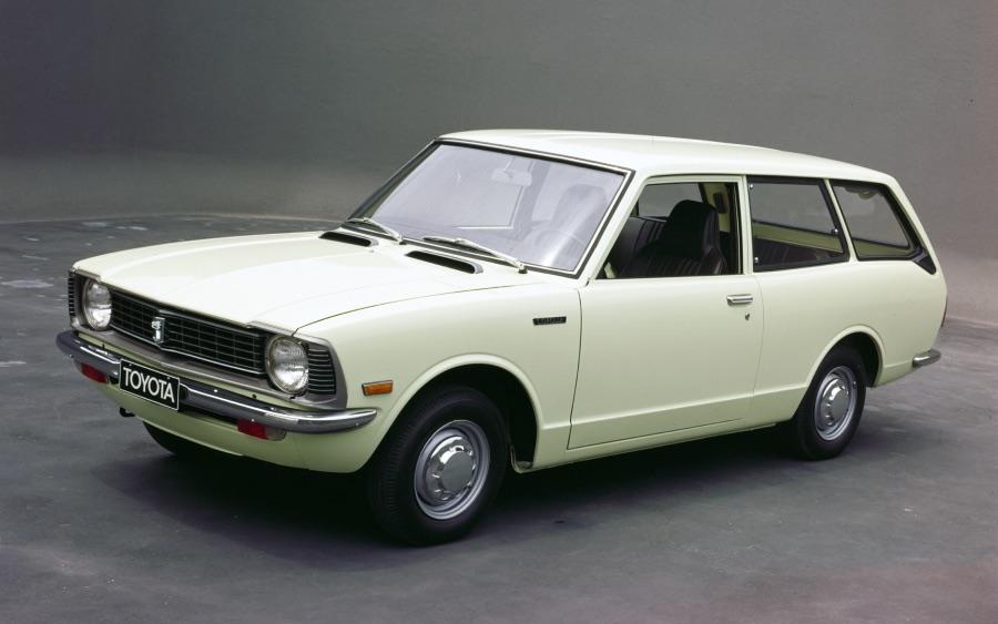 Corolla 2ª geração – 1970 a 1974 (foto: divulgação Toyota)