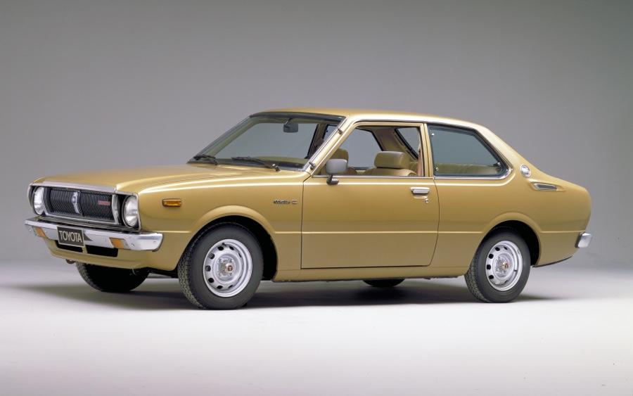 Corolla 3ª geração – 1974 a 1979 (foto: divulgação Toyota)