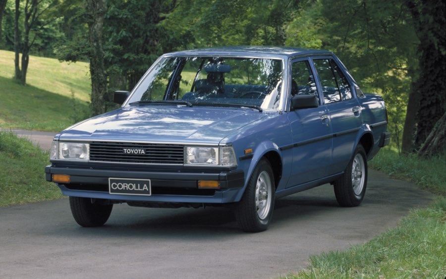 Corolla 4ª geração – 1979 a 1983 (foto: divulgação Toyota)