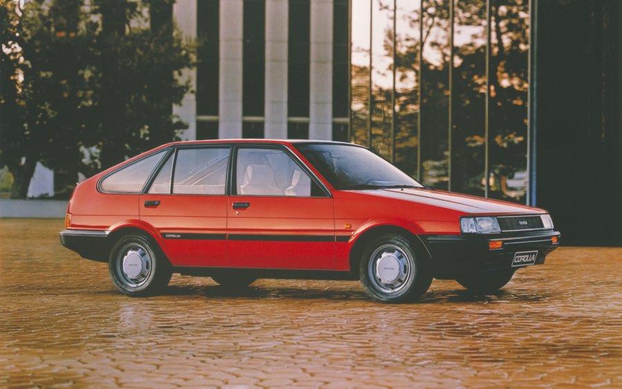 Corolla 5ª geração – 1983 a 1987 (foto: divulgação Toyota)