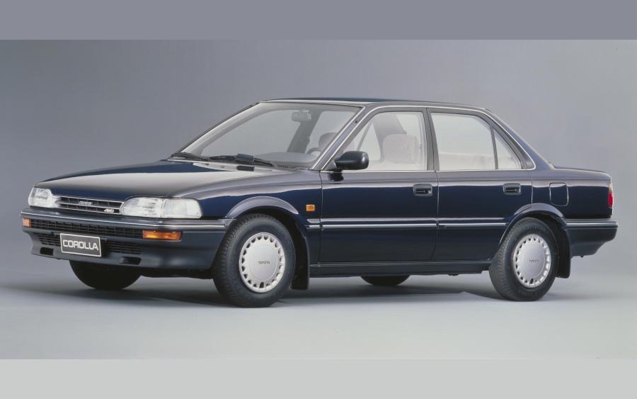 Corolla 6ª geração – 1987 a 1991 (foto: divulgação Toyota)