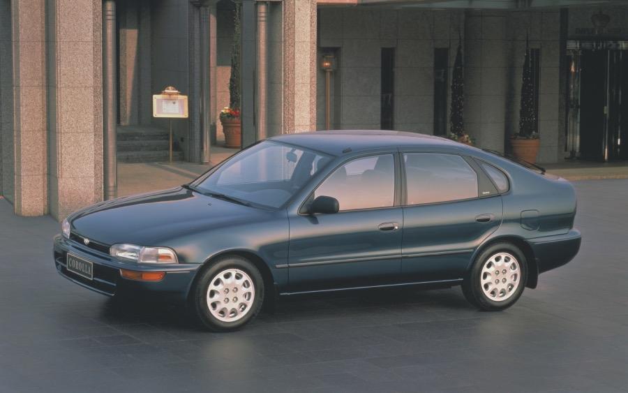 Corolla 7ª geração – 1991 a 1995 (foto: divulgação Toyota)